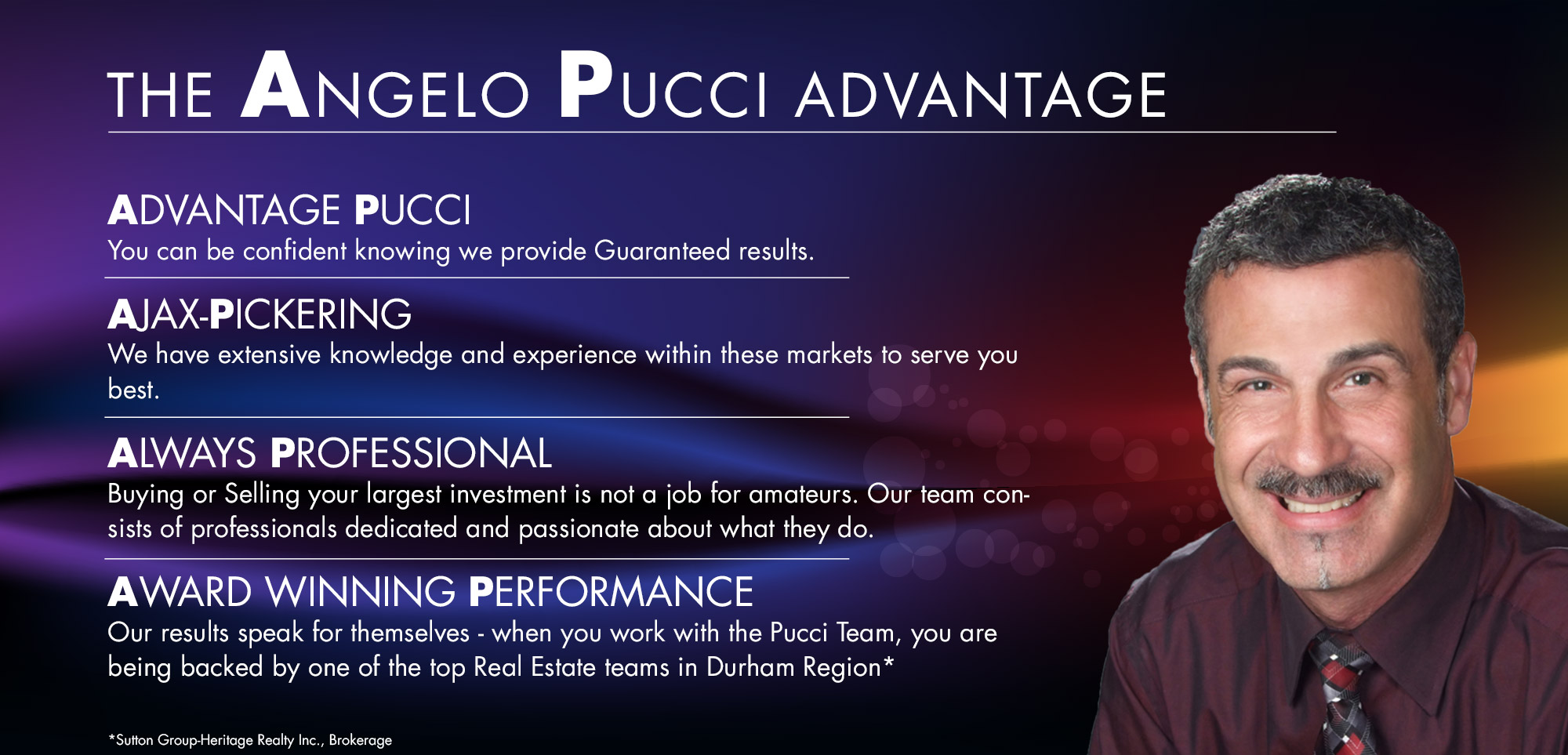 The Angelo Pucci Advantage